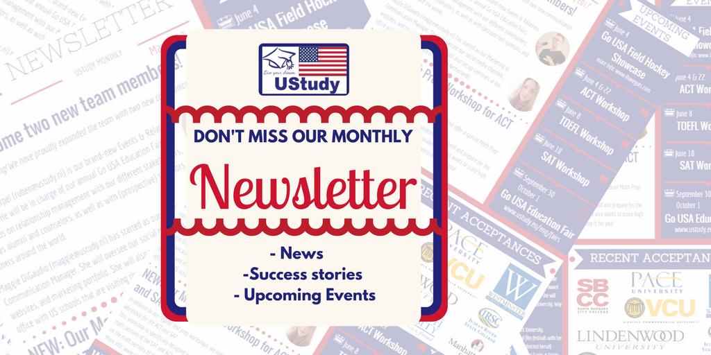UStudy Newsletter | January 2018
