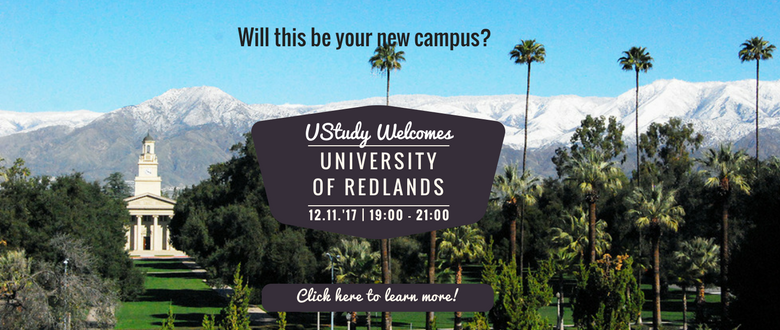 UStudy - Study in the USA - Study in Canada - University of Redlands
