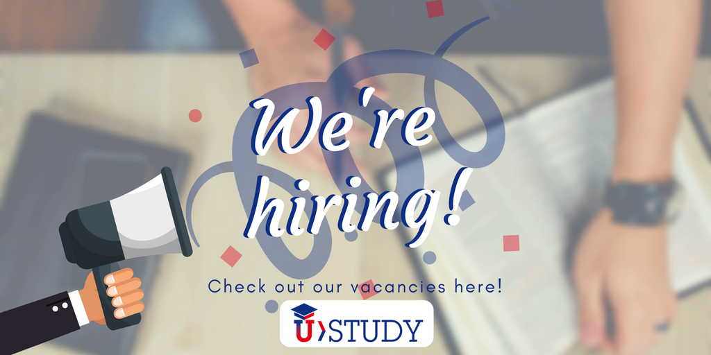 UStudy, Vacancy, Marketing, Editor, Application specialist, work from home