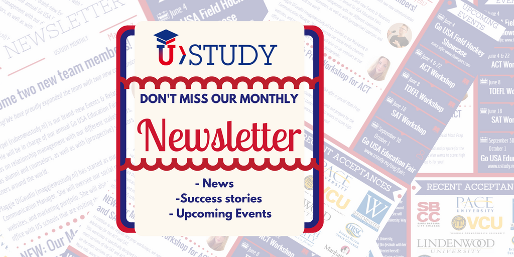UStudy Newsletter | March 2018