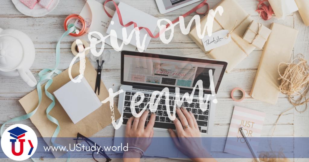 UStudy, vacancy, Marketing Officer